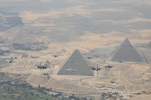 Exercise Bright Star in Egypt
