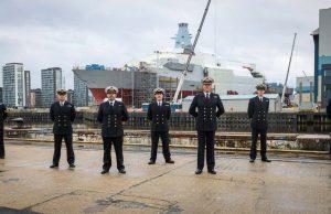 First HMS Glasgow crew