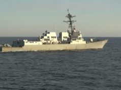 Russian US destroyers face off in Sea of Japan