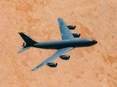 KC-135 Stratotanker over Qatar