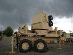 US Army Sentinel A4 missile defense radar