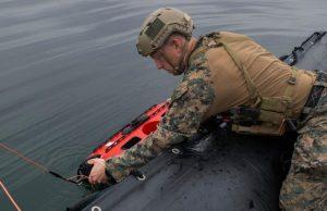 US Marine Corps EOD ROV