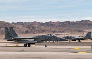 F-15 EX at Nellis AFB