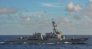 USS Ralph Johnson joined US 7th Fleet in October 2021.