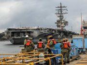 USS Ronald Reagan in Yokosuka, Japan