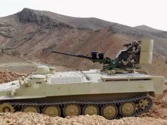 Armenian MT-LB in Azerbaijan service